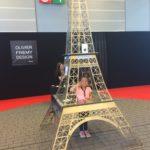 Tour Eiffel événementiel 4,30m à la Foire de Paris