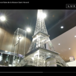 Tour Eiffel CRISTAL sur Luxe TV